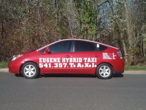eugene taxi